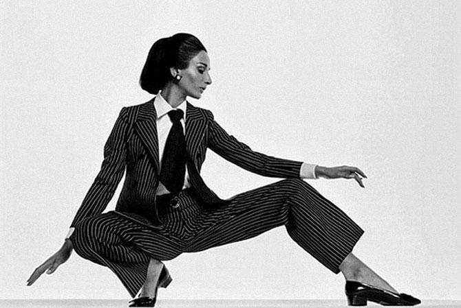 Брючные костюмы в истории женской моды