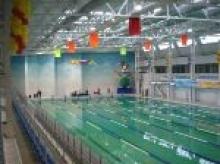 Бассейн в спорткомплексе Химпрома